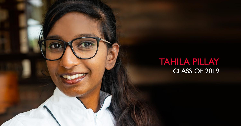 Tahlia Pillay - Jackie Cameron School of Food and Wine