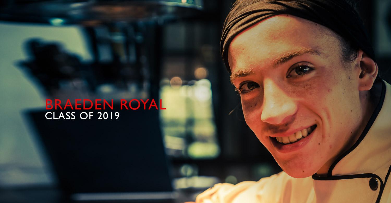 Braeden Royal - Jackie Cameron School of Food & Wine