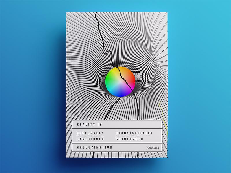 Karolis Masilionis 21 posters reality is a hallucination