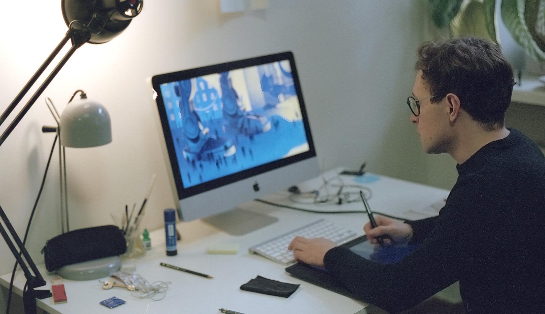 Karolis has recently upgraded to a 27' iMac.