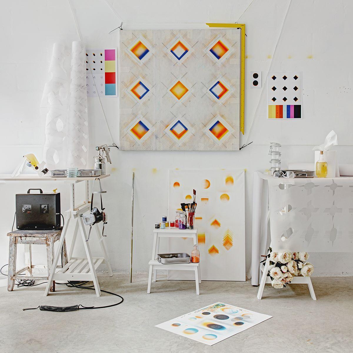 Tadao' workplace