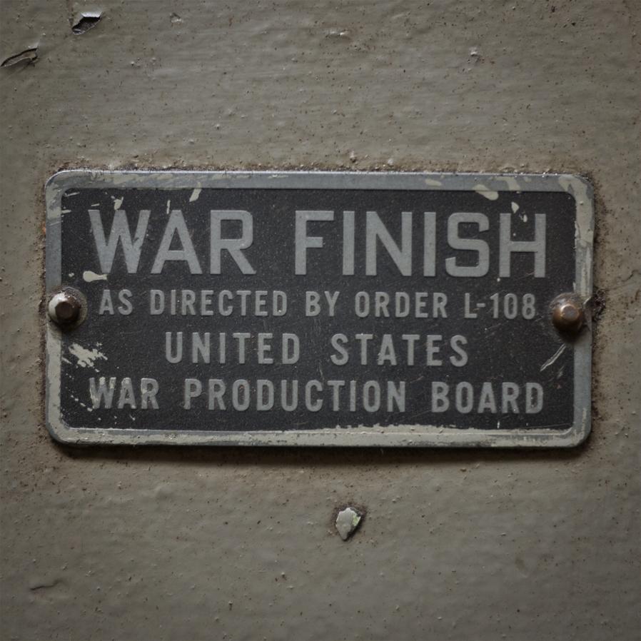 War Finish.
