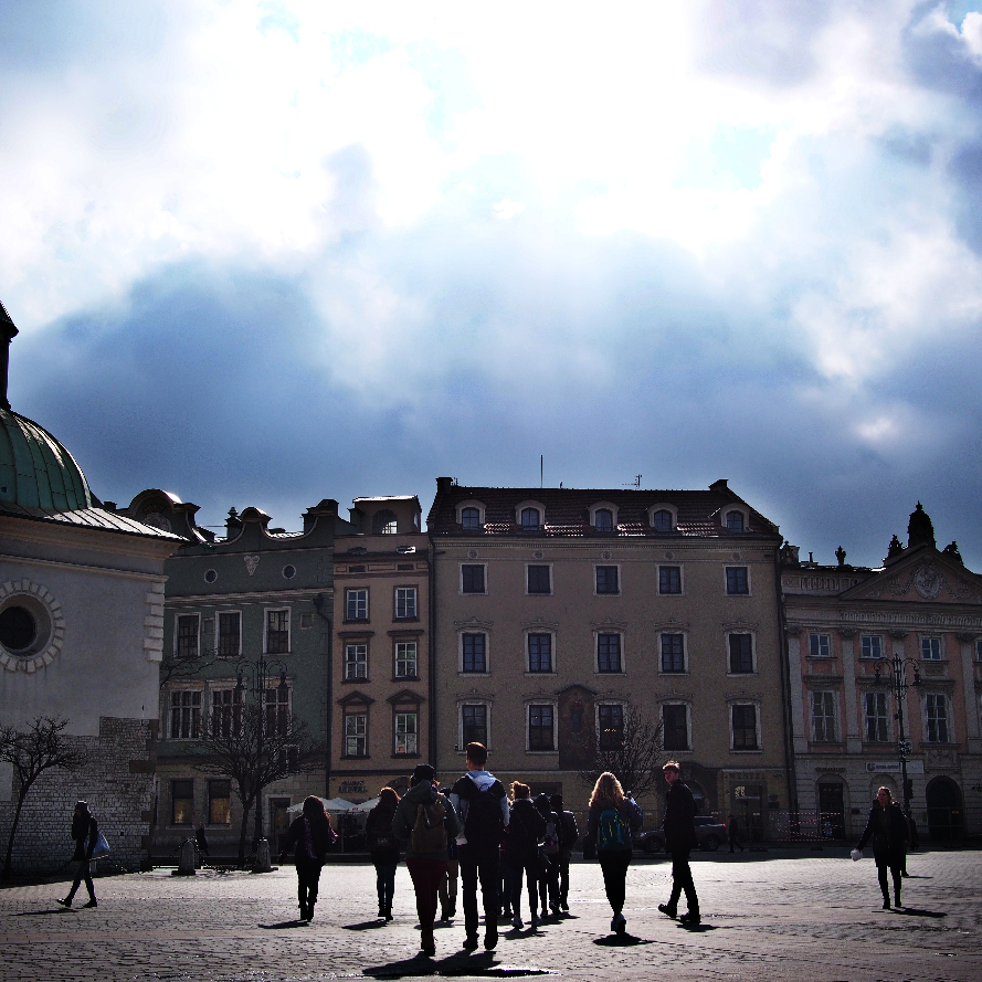 We explored each city on foot. Krakow's cobbles massaged our weary feet.