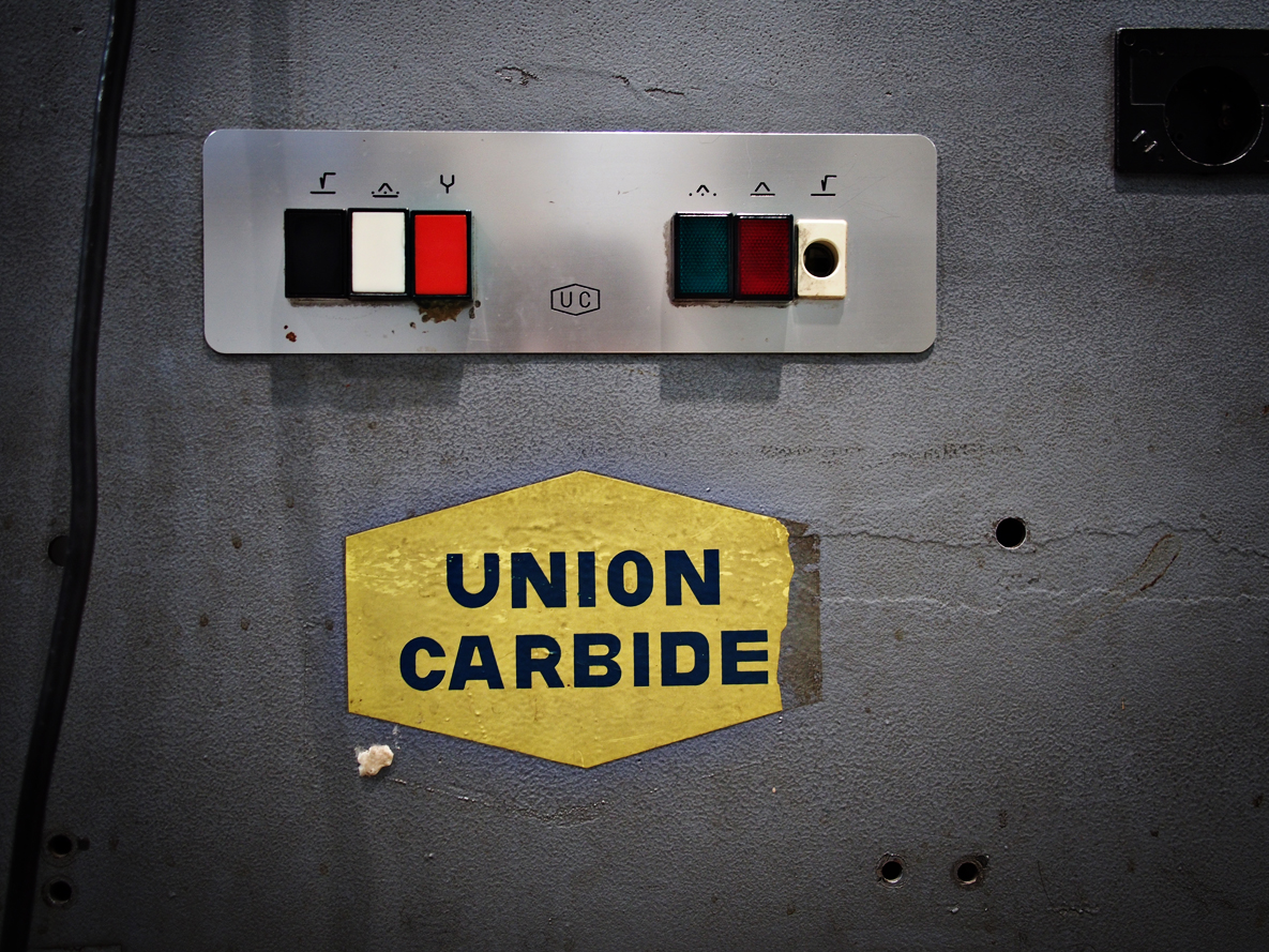 This Union Carbide welder was used to smuggle dozens of people out of East Berlin.