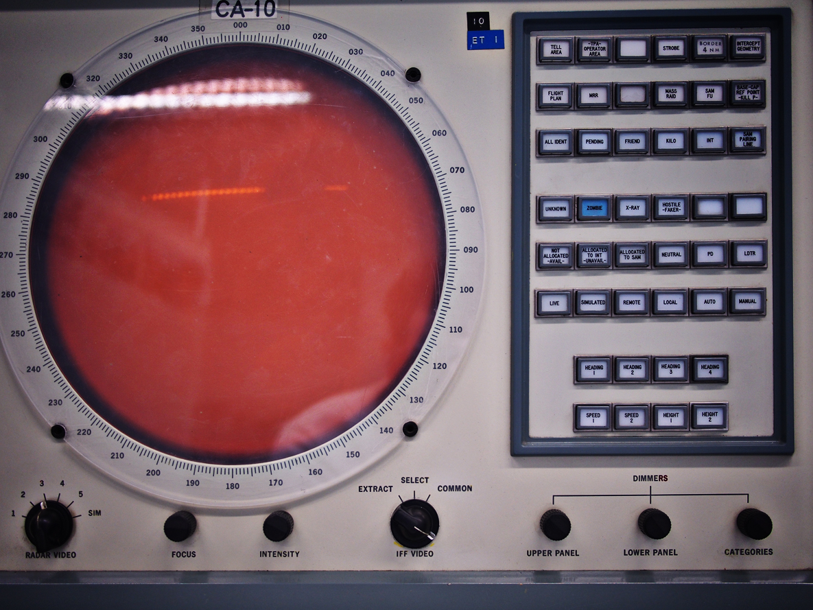 I won't lie, I have no idea what this was used for. I just love button and dials.