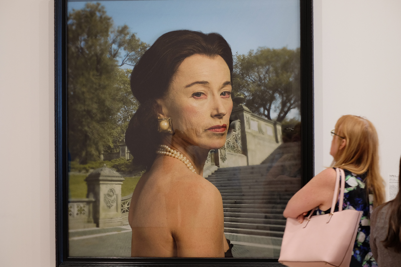 Cindy Sherman is dismissive and haunting.