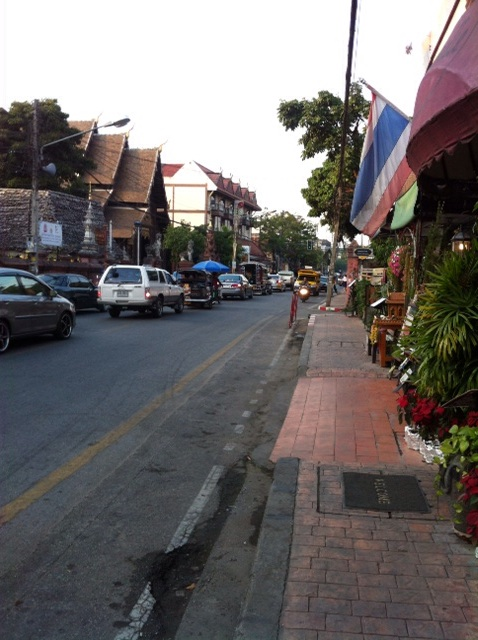 The streets of Chiangmai