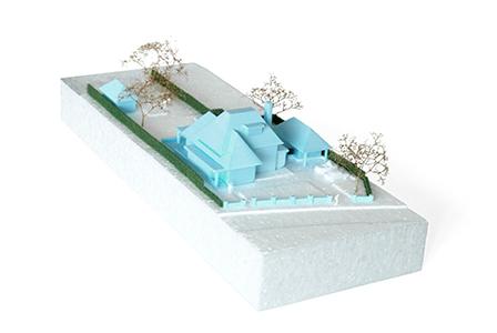 NOMAA architect jaren 30 villa boxtel brabant zelfbouw kavel modern landelijk strak warm baksteen stijlvol wonen maquette_3.jpg