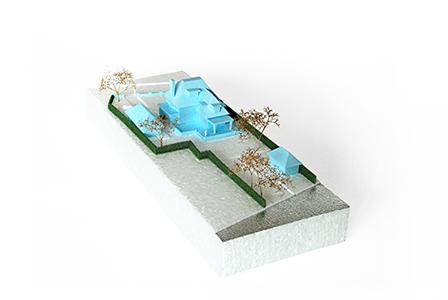 NOMAA architect jaren 30 villa boxtel brabant zelfbouw kavel modern landelijk strak warm baksteen stijlvol wonen maquette_2.jpg