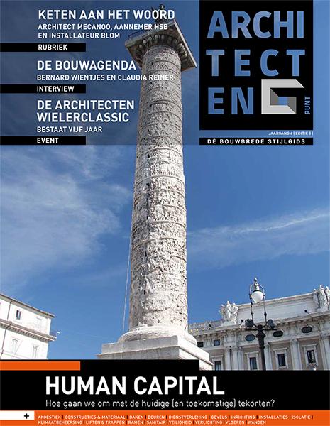 'Ontwerpvrijheid en Perfect Wooncomfort'  Architecten Punt Magazine - maart 2019
