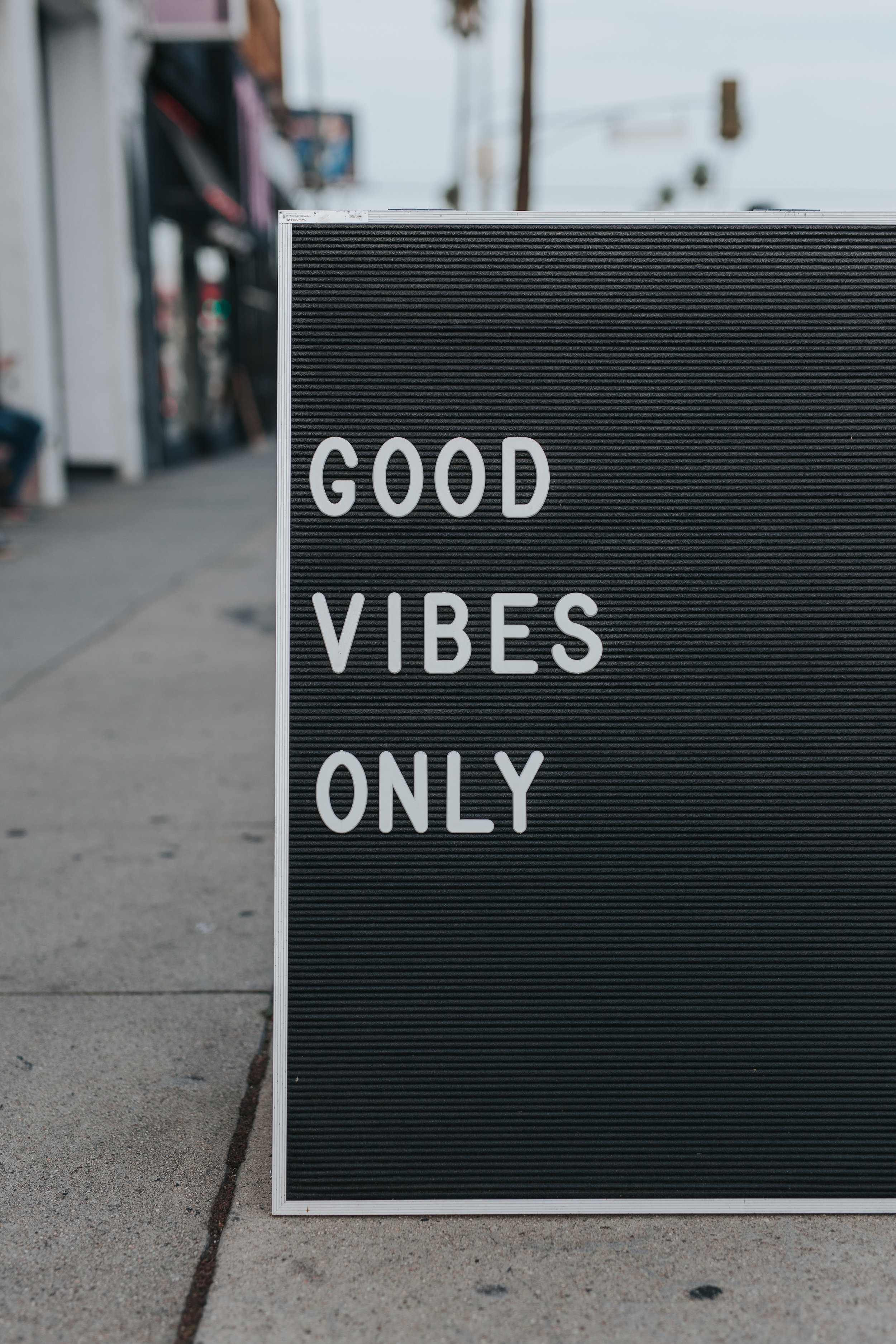 drop the good vibes only mentality