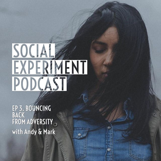 """Ep.03 of the Social Experiment Podcast is live! Link in bio. """"Bouncing Back from Adversity"""" #podcast #podcasts #podcastlife #podcasting #adversity #resilience #business #smallbusiness #entrepreneurship"""