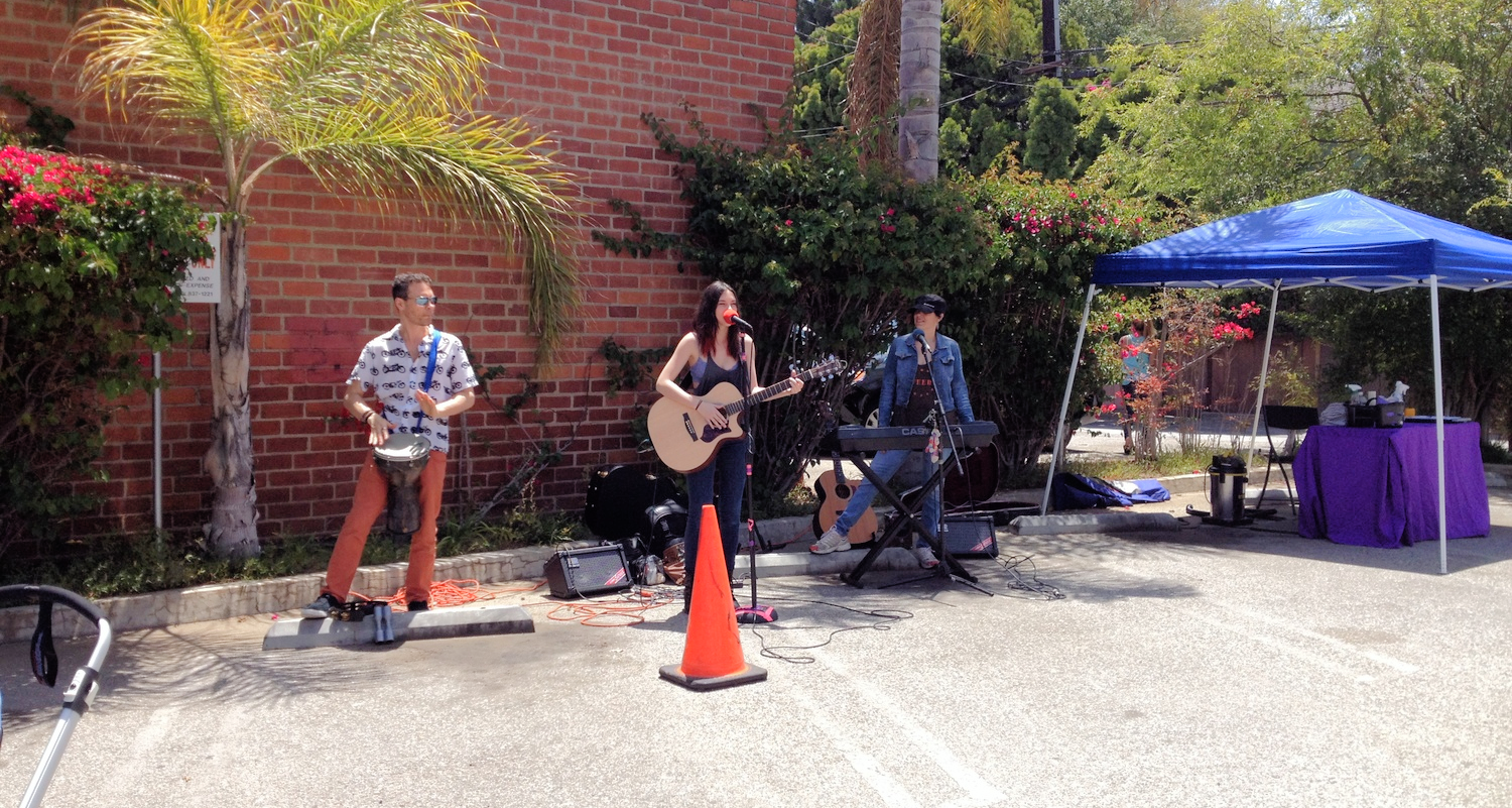 Live music provided throughout the day by different musicians and bands.