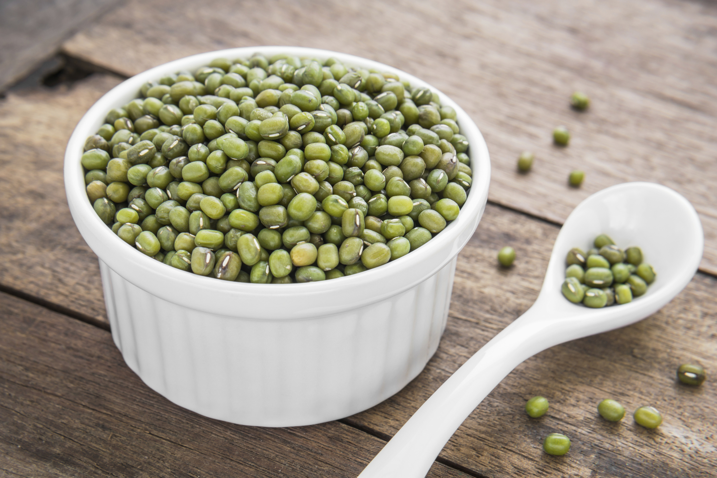 Photo of mung beans by Amarita/iStock / Getty Images