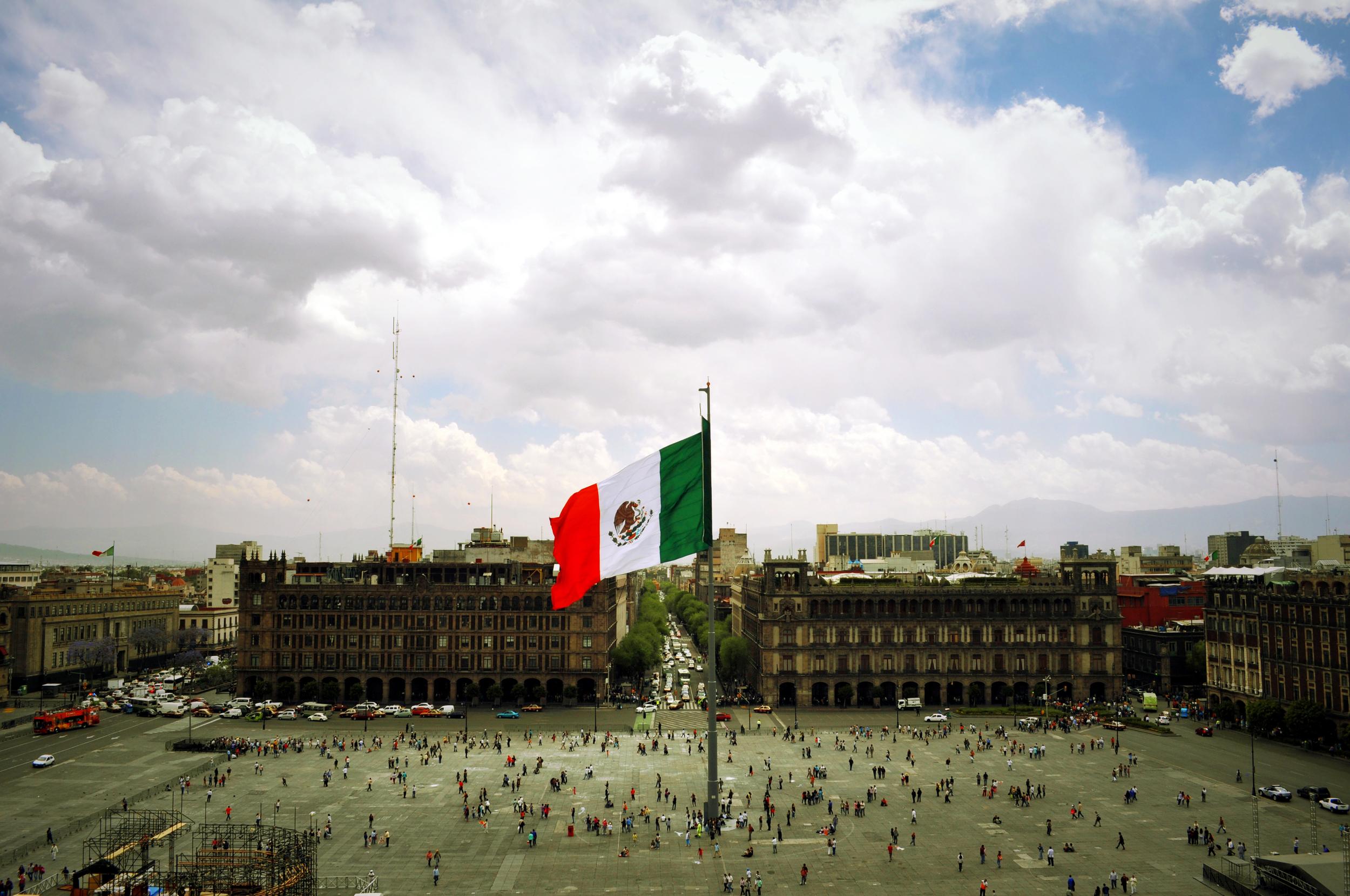 Heart of Mexico City
