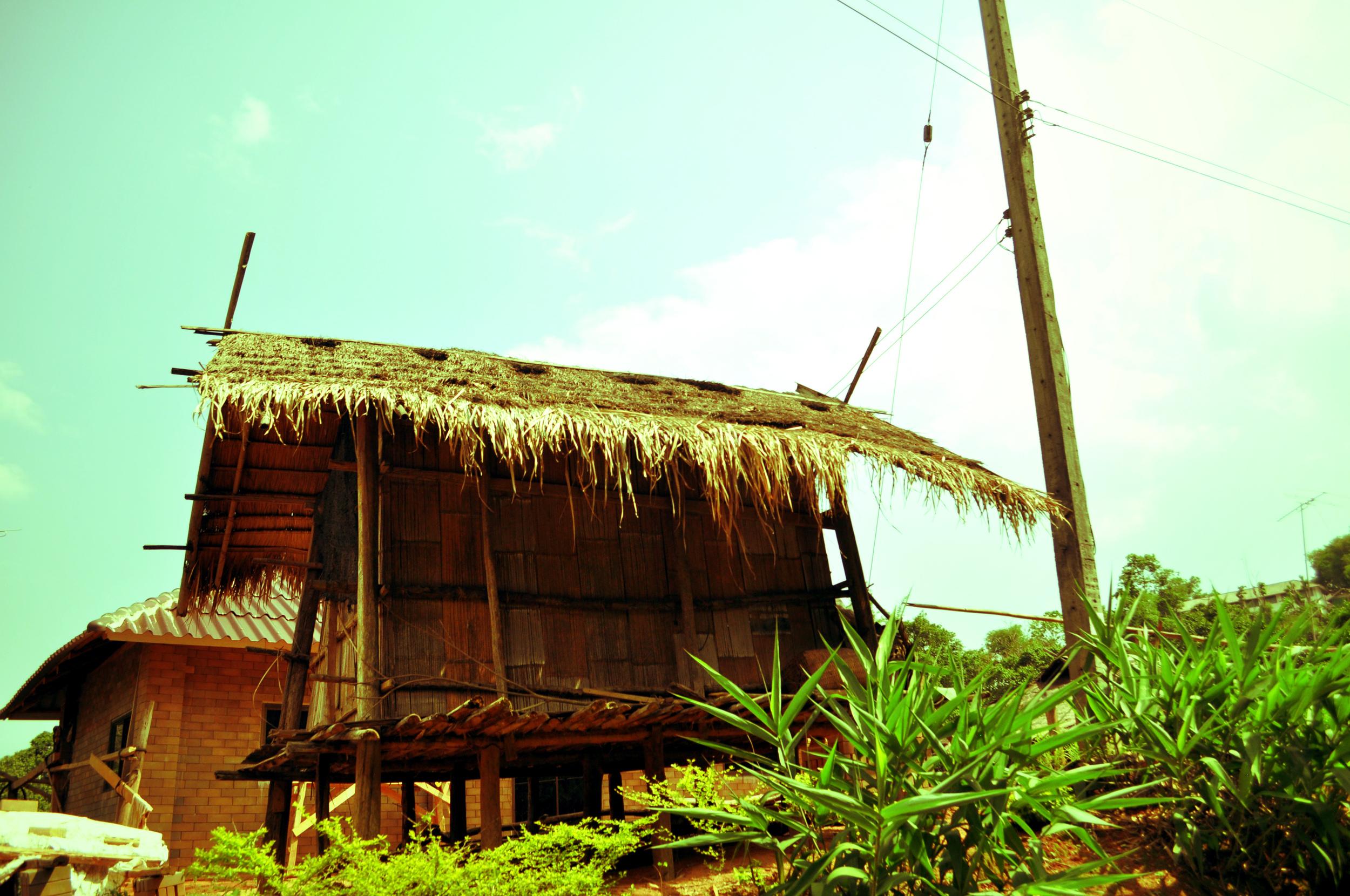 Harvest hut