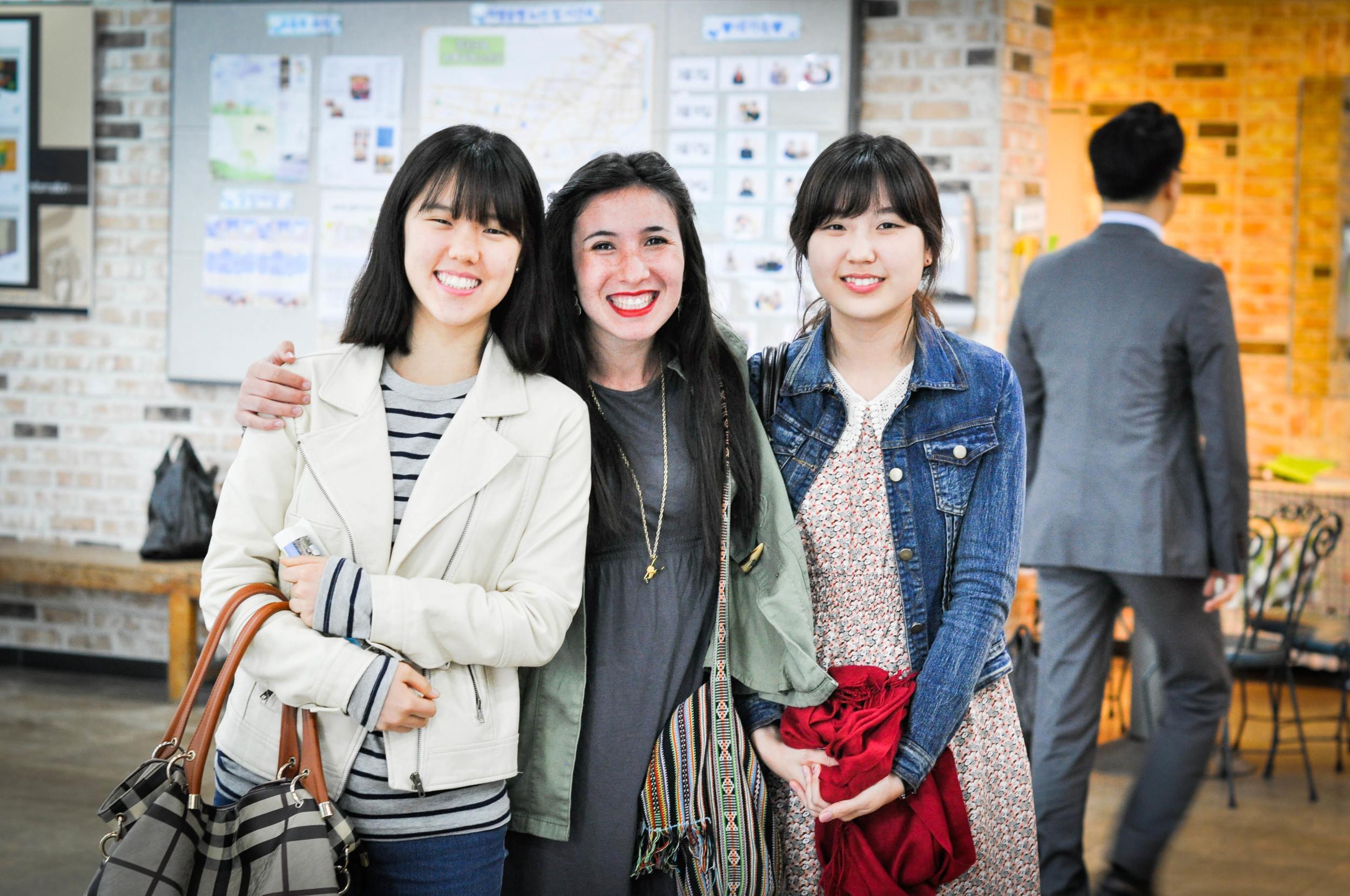 Small group in Hongik Church. Seoul, Korea.