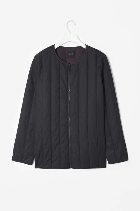 a quilted cotton jacket from COS