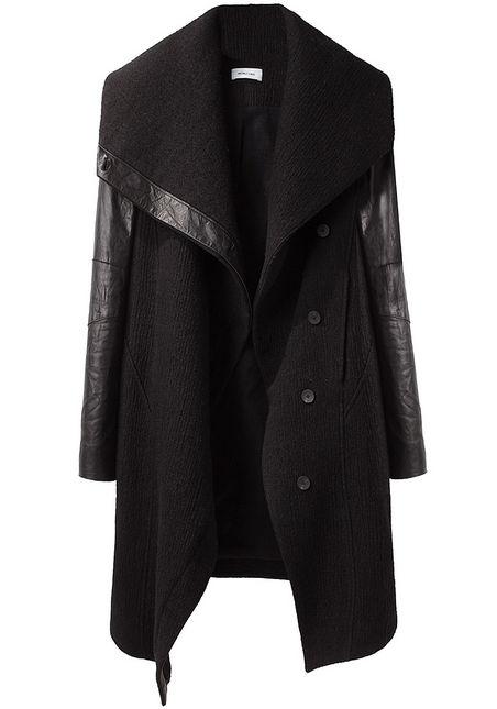 a Helmut Lang coat from La Garconne