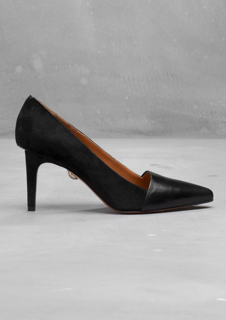 Second Floor Flat - & other stories - Suede Pumps