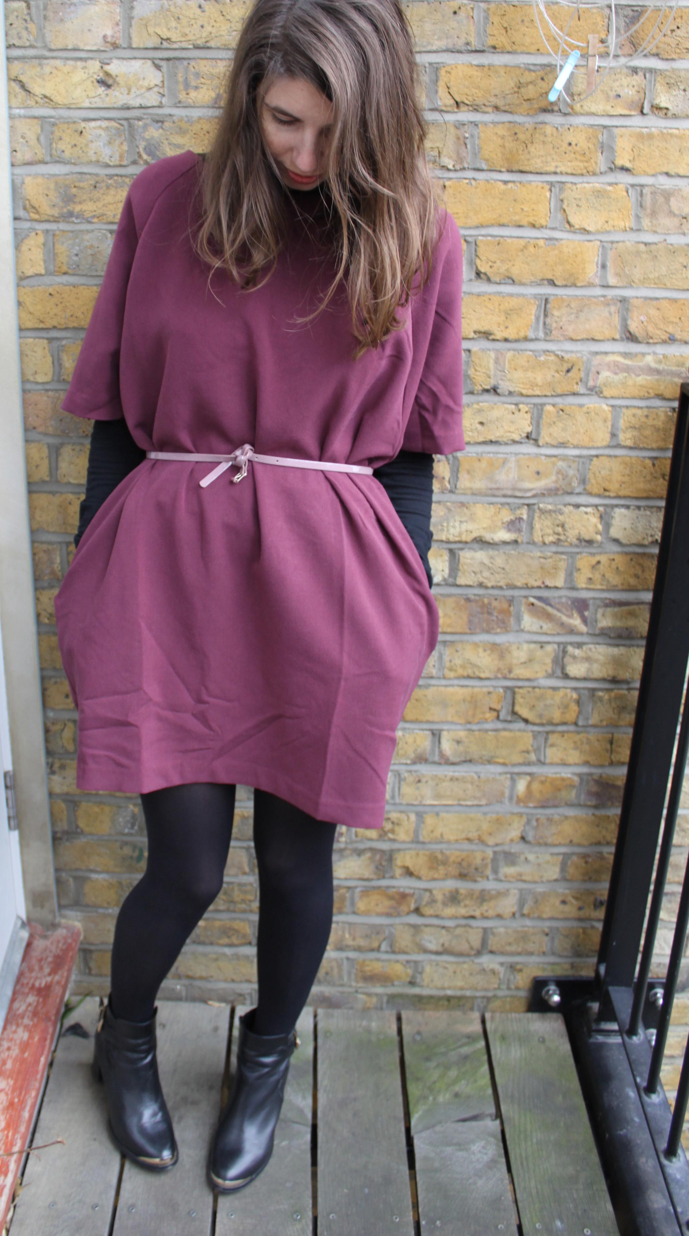 Kimono Sleeve Dress, Monki - Second Floor Flat