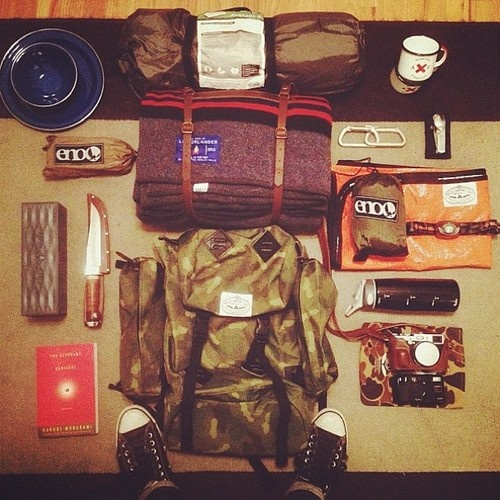 hipster hiking kit - Second Floor Flat