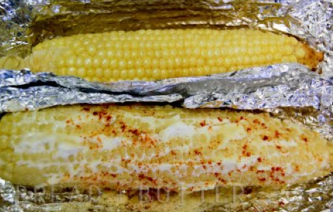 corn on the cob - Second Floor Flat