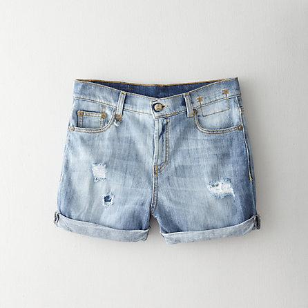 R13 Cut-Off Denim Shorts - Second Floor Flat