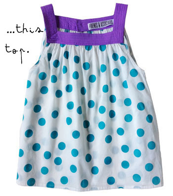 Friends & Associates Polka-Dot Top - Second Floor Flat