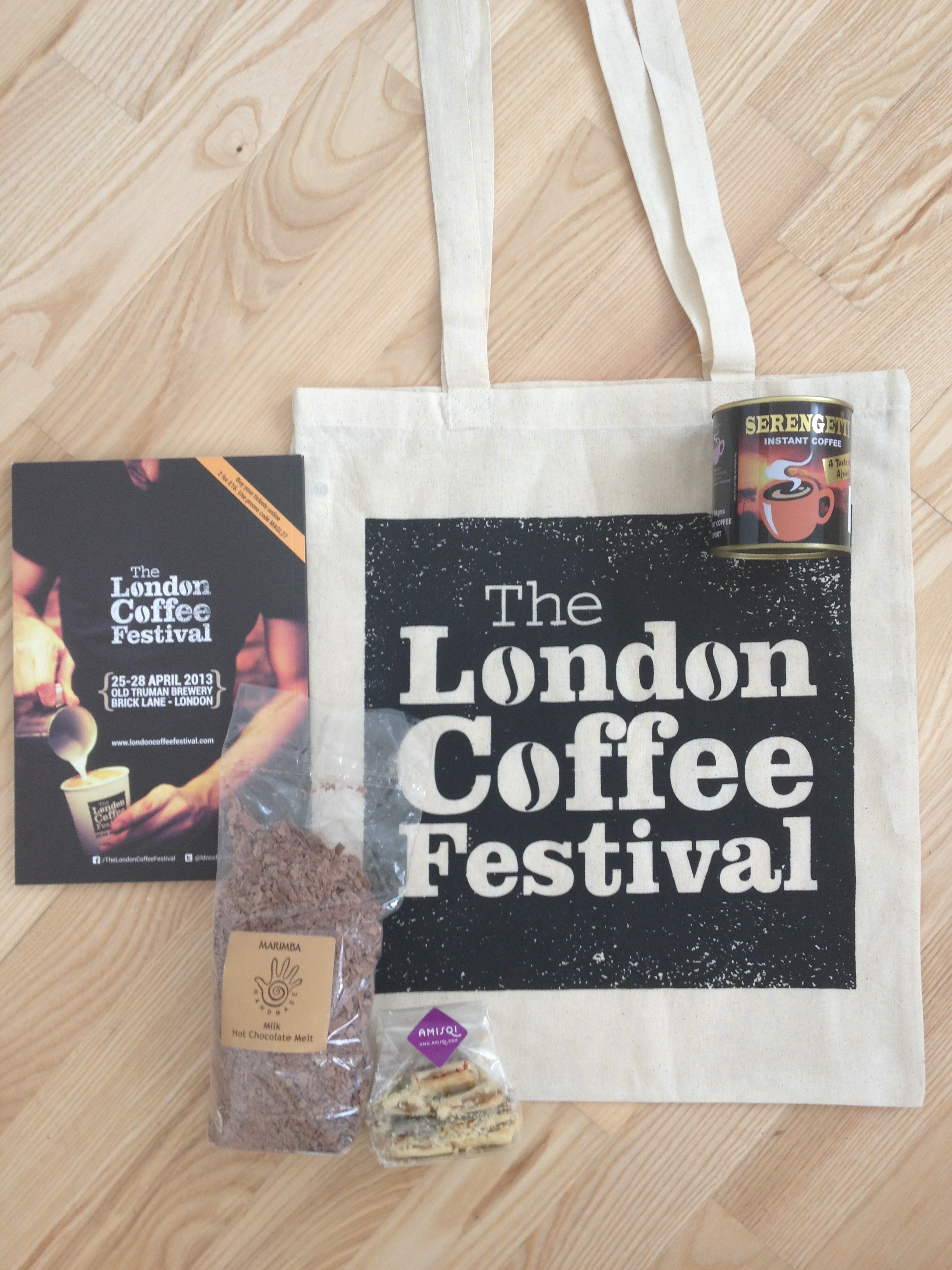 Treats from the London Coffee Festival - Second Floor Flat