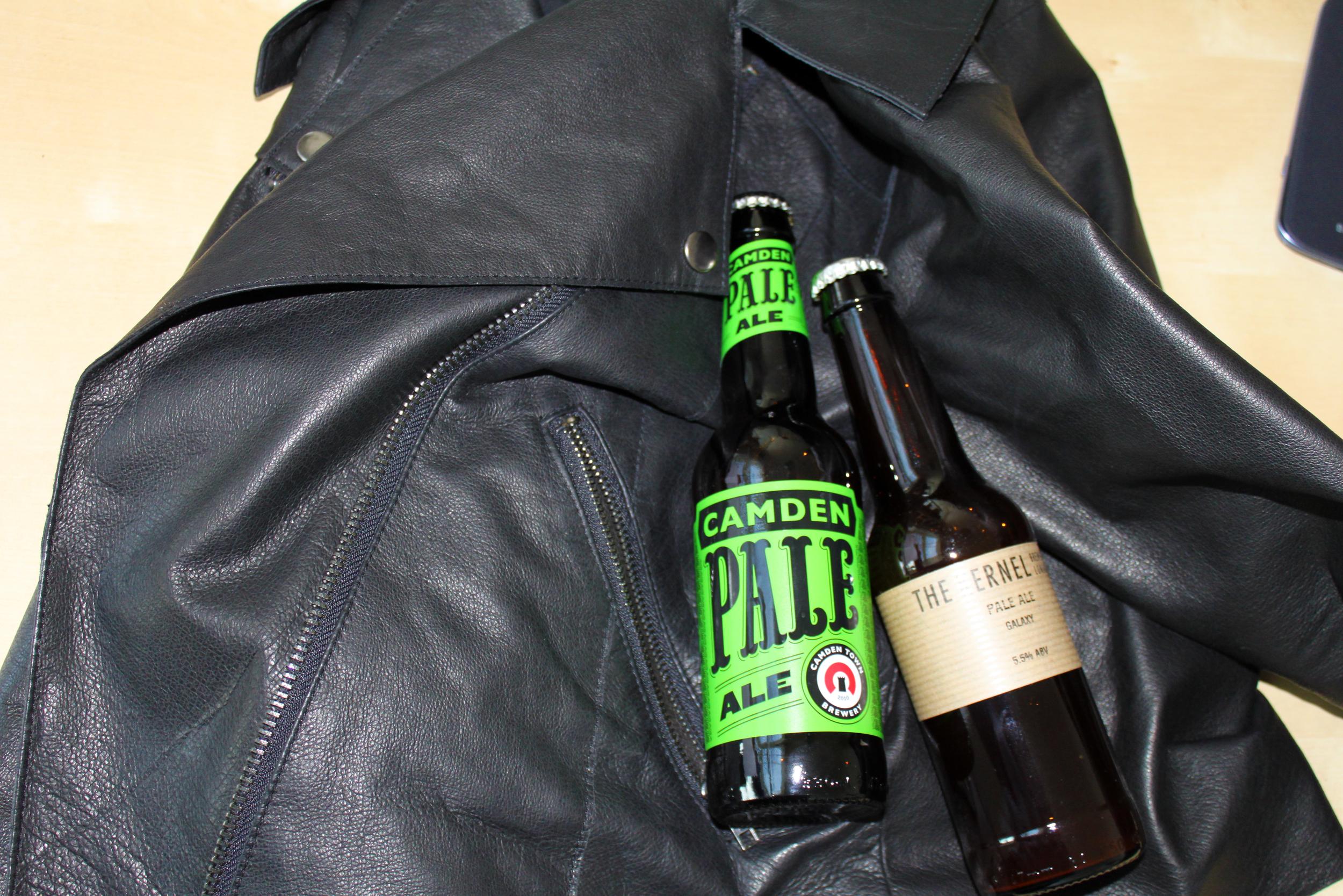 ASOS Leather Biker Jacket - Second Floor Flat