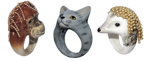 Nach Jewelry - Animal Rings / Second Floor Flat