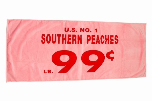 Opening Ceremony Towel - Southern Peaches / Second Floor Flat