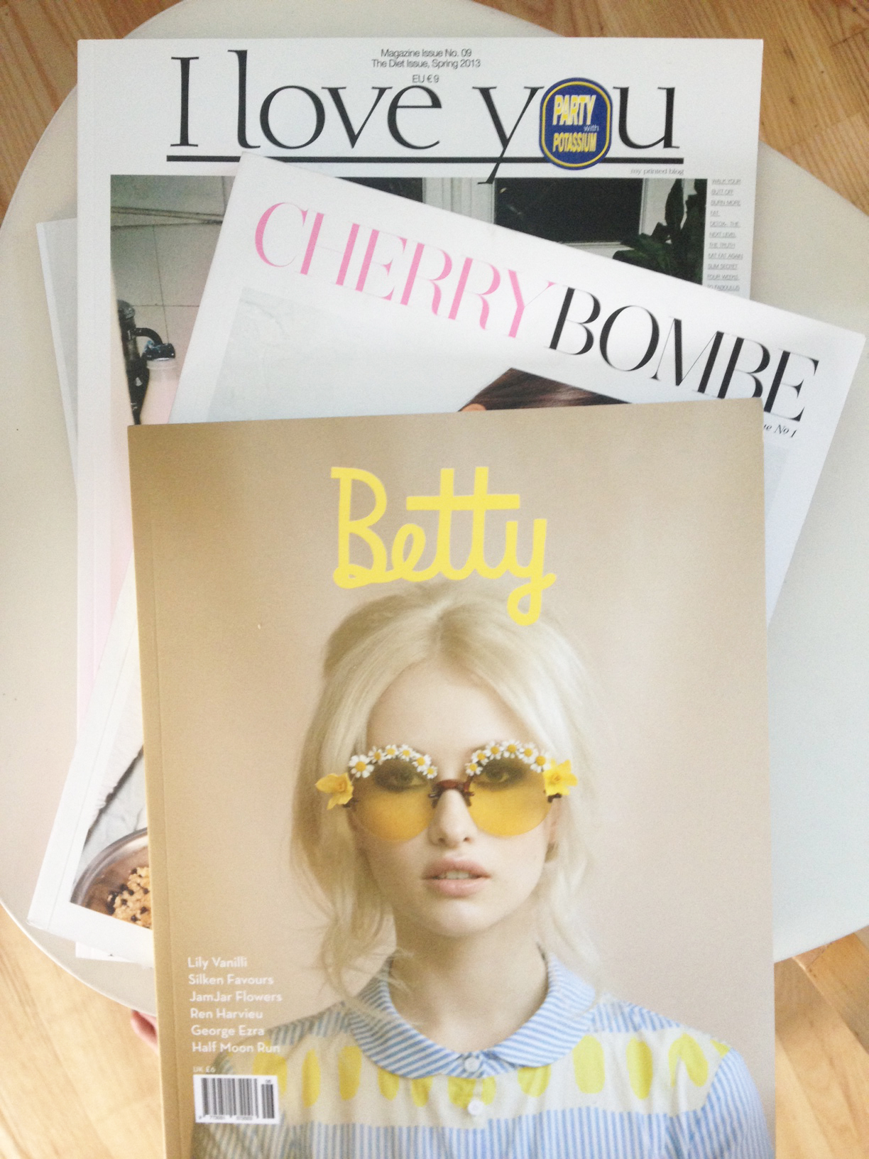Cherry Bombe, I Love You, Betty / Second Floor Flat