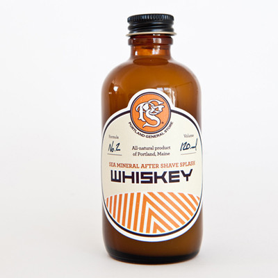 Whiskey After Shave / Portland General Store // Second Floor Flat