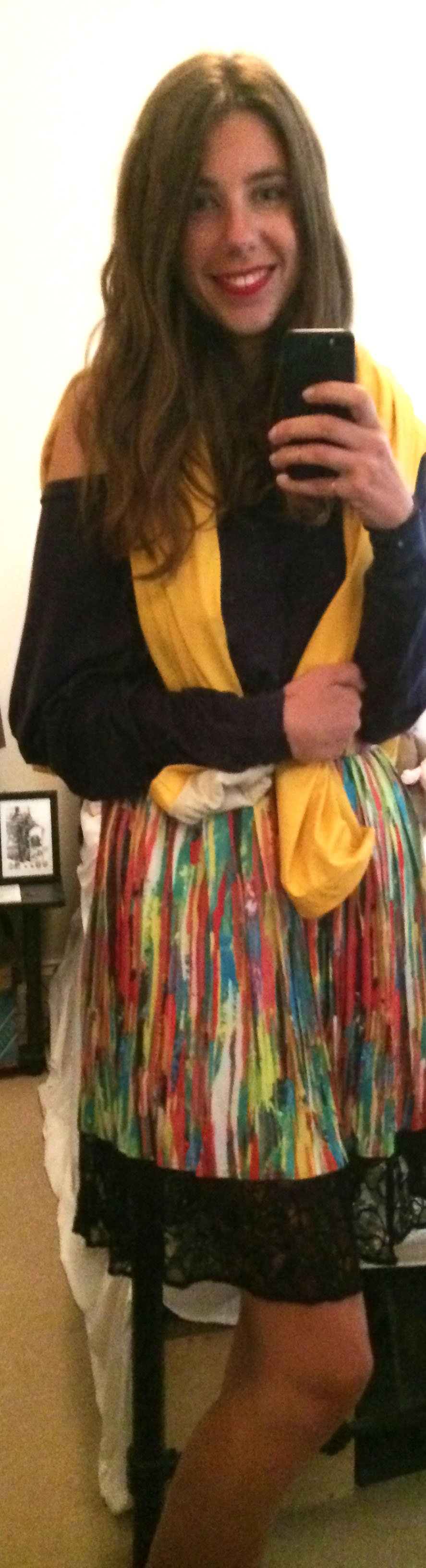 American Apparel Raglan Shirt ,  Kids Yellow Rain Coat , Prabal for Target Skirt