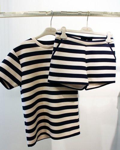 Matching Stripes / secondfloorflat.com