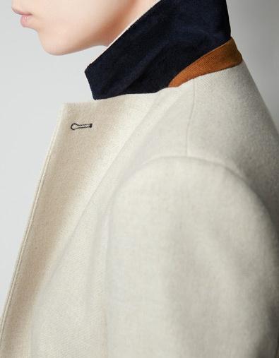 ZARA Wool Coat / Second Floor Flat