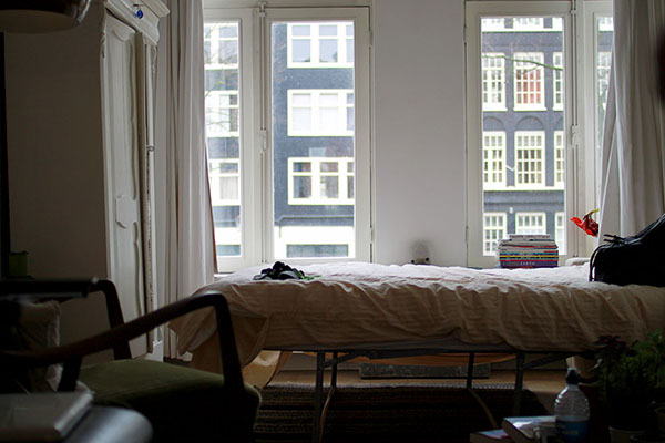 An American in Amsterdam - Second Floor Flat