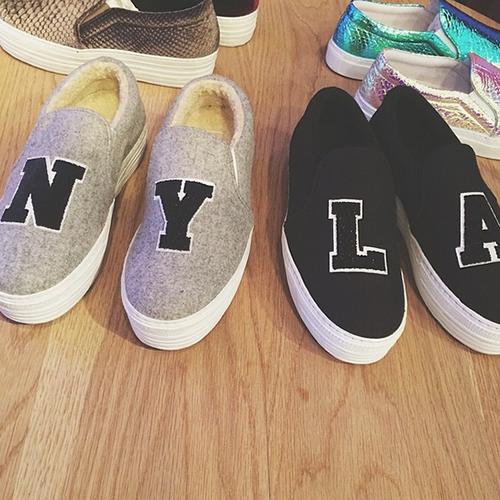The Best Summer Shoes: Joshua Sanders Slip-On Sneakers | Second Floor Flat