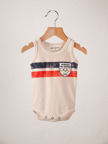 Shopping List: Sleeveless Body Double Stripes by Bobo Choses | Second Floor Flat
