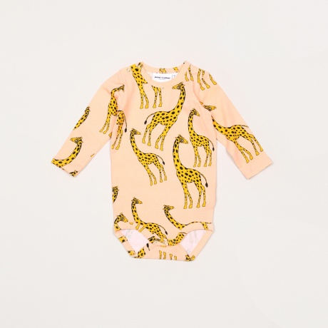 Shopping List: Giraffe Bodysuit by Mini Rodini | Second Floor Flat