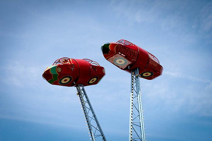 steam fair, Clissold Park, London
