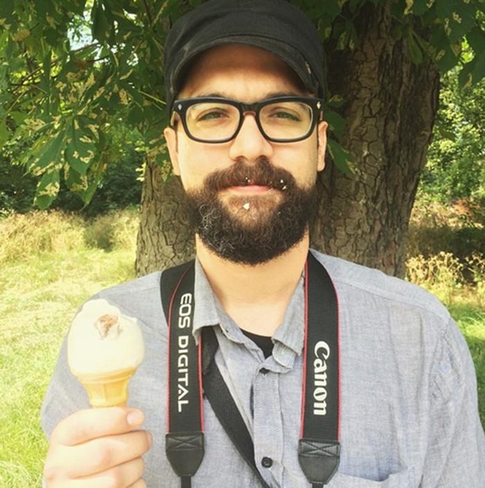 ice cream in Clissold Park