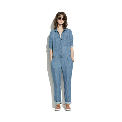 Shopping List: Jumpsuits | Chambray Machinist Jumpsuit by Madewell