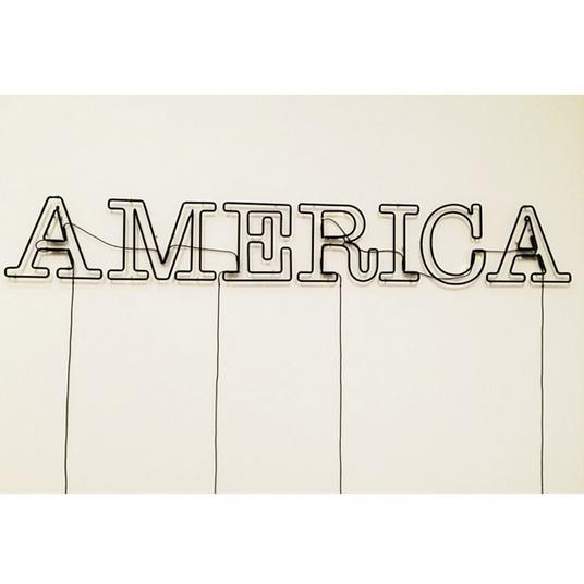"""Untitled"" by Glenn Ligon,  Tate Modern"