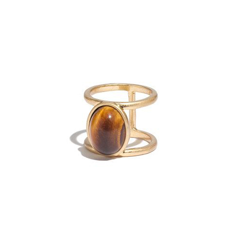 This  Madewell Cocktail Ring  (just like Veda's mood ring that Thomas J. so faithfully went after – RIP)