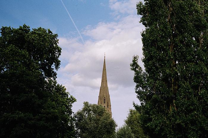 London church steeple   Second Floor Flat