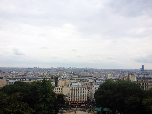 Paris from Montmartre | Second Floor Flat