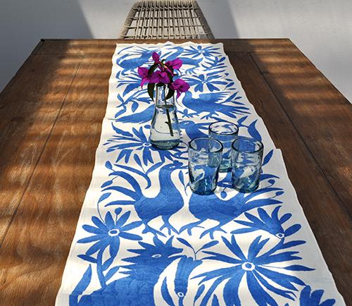 Otomi Table Runner by Yucu Ninu , $130